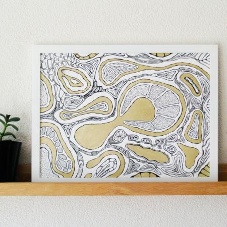 cora verhagen - organic art